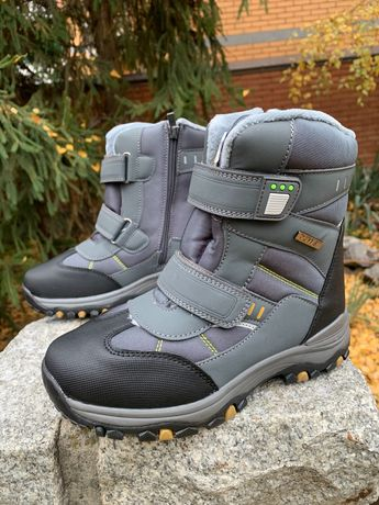 34,35,36,37,38р Термо ботинки на мальчика зимние новые