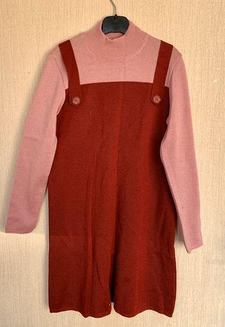 Шерстяное платье для девочки от Sofline