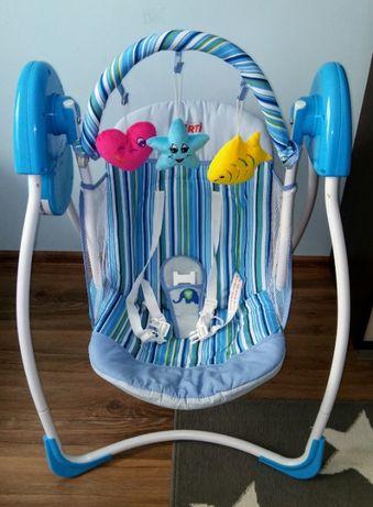 Huśtawka elekrtryczna-leżaczek dla niemowlaka