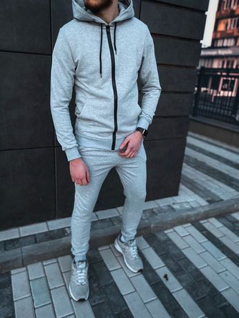 Мужской спортивный костюм змейка,штаны,3 цвета