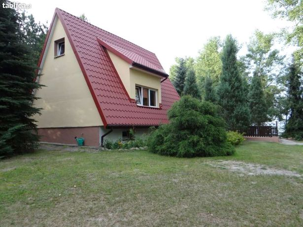 Dom domek nad jeziorem, Krzewent, Kujawsko-Pomorskie, wędkowanie