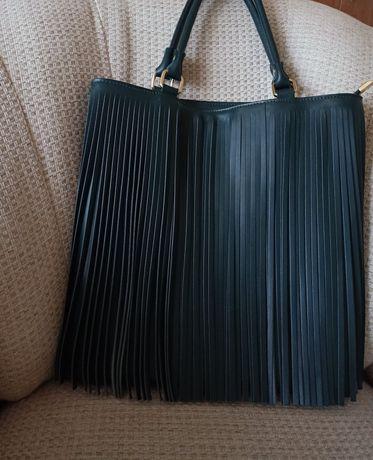 Włoska skórzana torebka