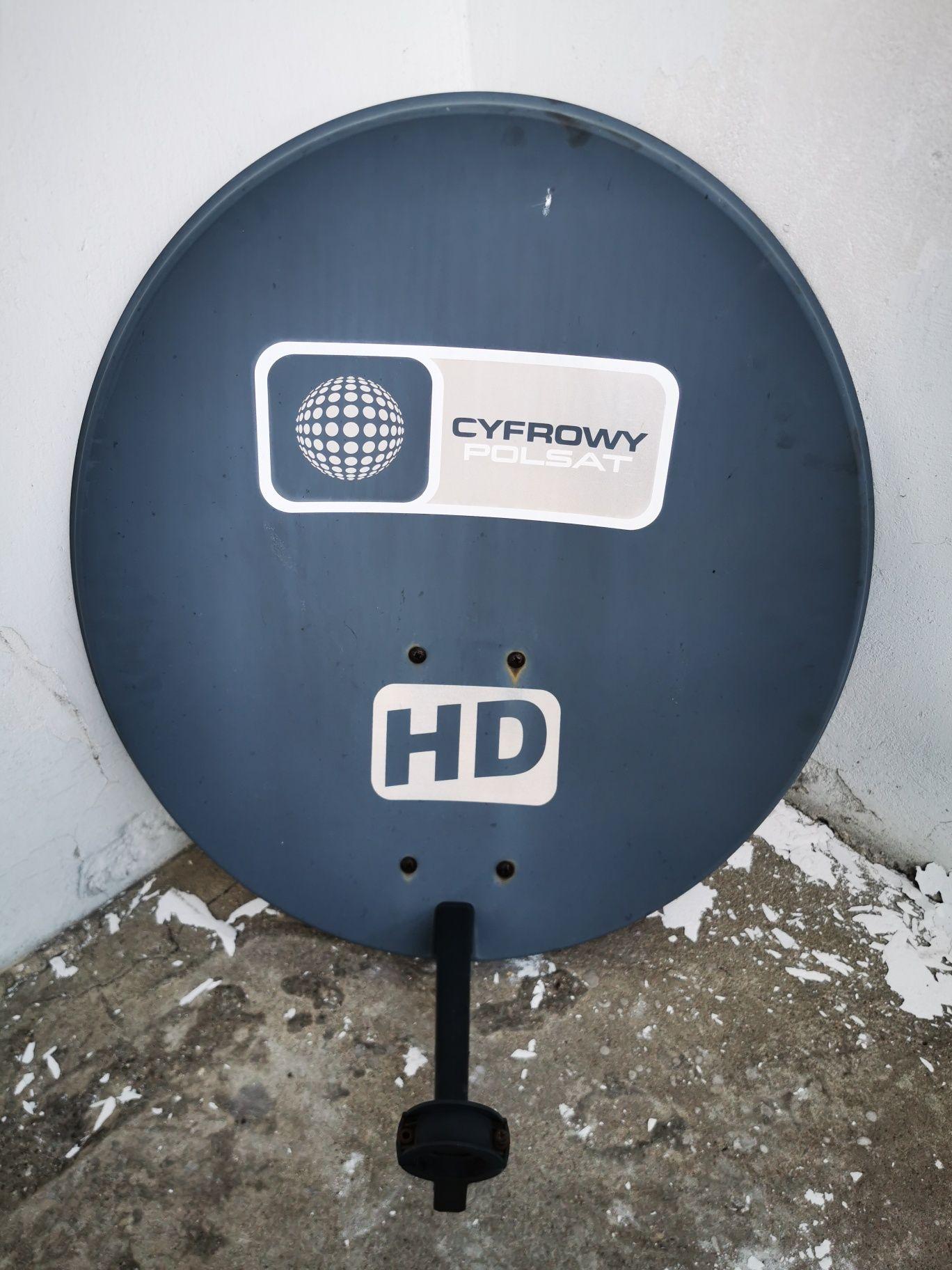 Sprzedam antenę satelitarną z nowym konwerterem