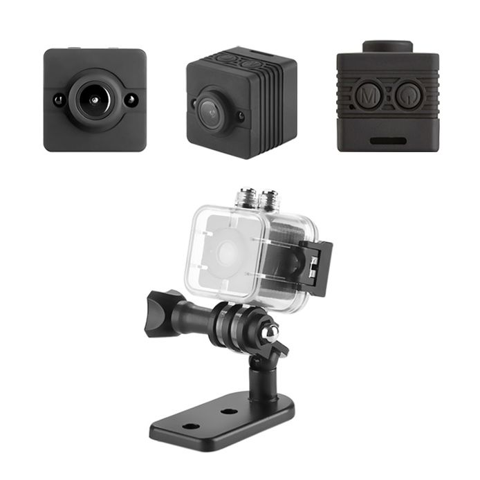 Kamera internetowa SQ12 nauka zdalna DETEKCJA RUCHU FULL HD Wytrzyszczki - image 1
