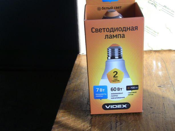 Світлодіодна лампа Videx 7Вт (аналог 60-ки)