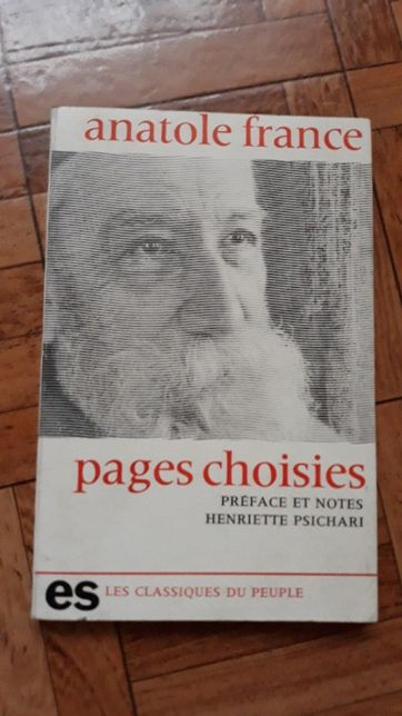 """Pages choisies"" Anatole France"