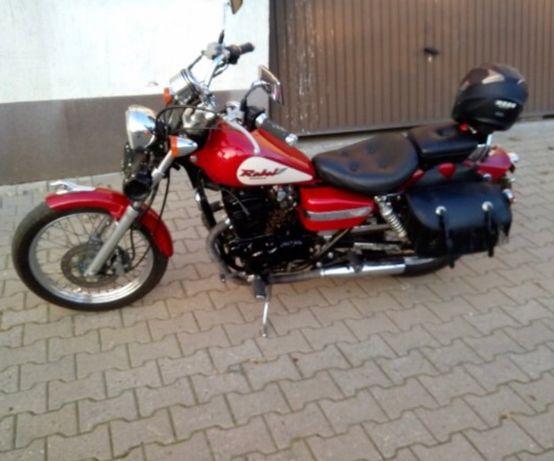 Motocykl stan idealny
