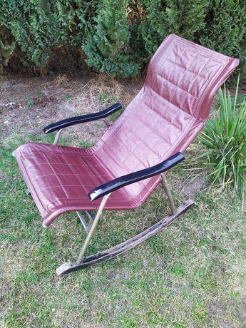 Takeshi Nii Japan zabytkowy fotel bujany składany 50 retro vintage