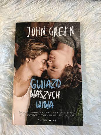 Książka ,,Gwiazd naszych wina'' John Green