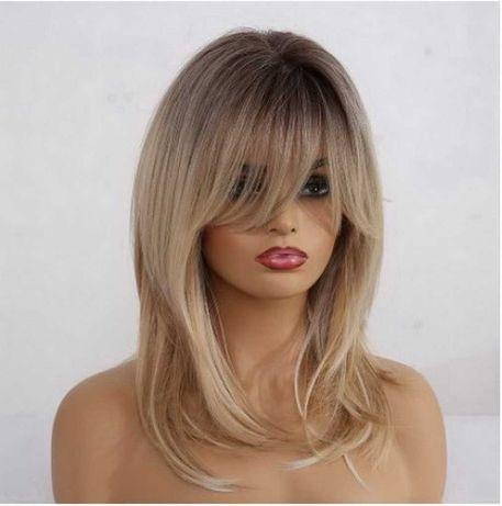 Парик длинный блонд натуральные волосы