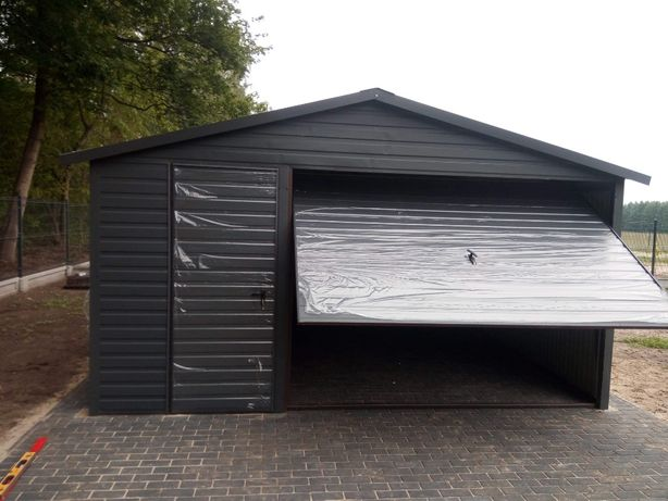 Garaż blaszany Na zamówienie Blaszak Garaże blaszane 5x6 Raty Garaze