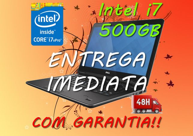 Portátil DELL E7440 i7 4/8/16Gb HDD/SSD Win 10 Pro webcam i3 i5 - Loja
