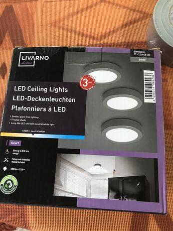 3szt lamp nowe livarno