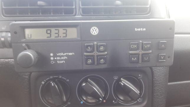 Radio Vw Beta . Vw golf 1, jetta.