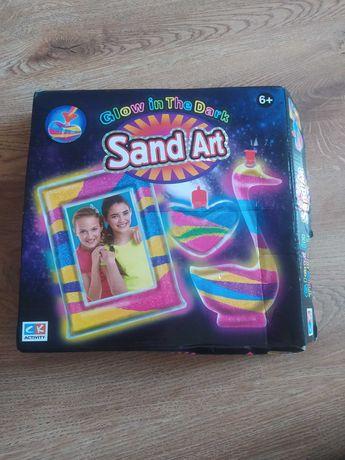 Zabawka Sand art