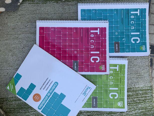 Livros Escolares de Educação tecnologica 7º e 8ºano
