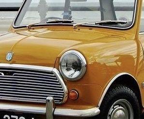 Argolas farois dianteiros frente Mini Cooper NOVAS