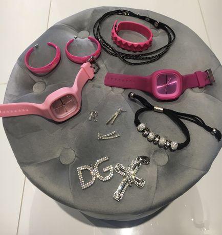 Biżuteria sztuczna, zegarki damskie
