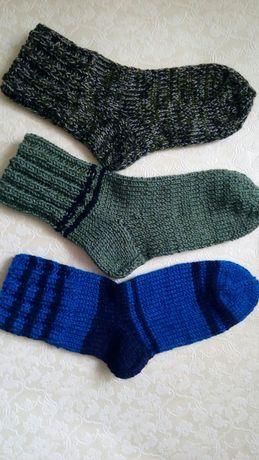 Носки мужские теплые вязаные
