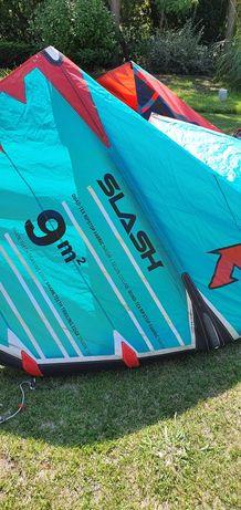 Kitesurf Naish Slash 9m, como novo. 2019