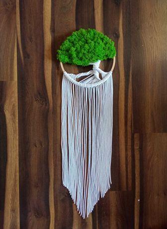 Drzewo życia makrama łapacz snów 28 cm