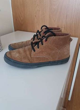 Next buty skorzane rude za kostke UK 1 R: 33 wiosna