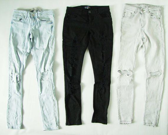 Spodnie jeansy BOOM HIT ME UP DENIM 158-164 -3szt