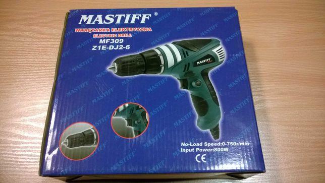 Wiertarkowkrętarka elektryczna Mastif 800w