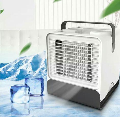 Mini refrigerador de ar portátil
