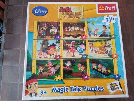 Puzzle Jake i Piraci z Nibylandii