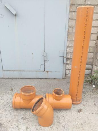 Труба канализационая новая. Цена за 1пм.