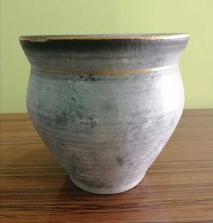 M564 Osłonka ceramiczna doniczki szara