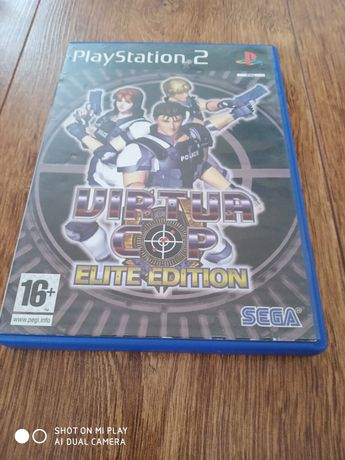 Диск з грою на PlayStion2 Virtua Cop Elite Edition