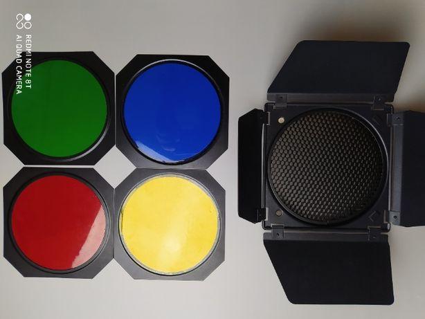 Набор (шторки, соты, цветные фильтры) Mircopro BD-200