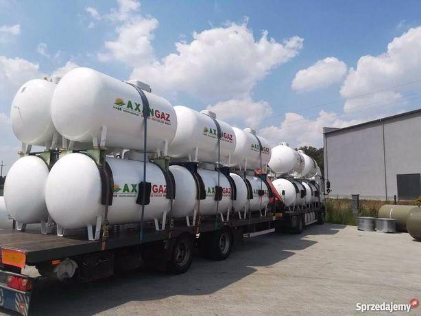 Zbiornik na gaz propan płynny 2700, 4850, 6400. LPG