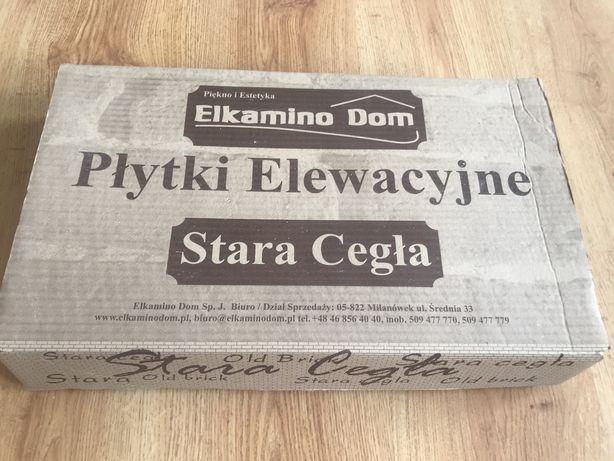 Płytki elewacyjne Stara Cegła Elkamino Dom Białe
