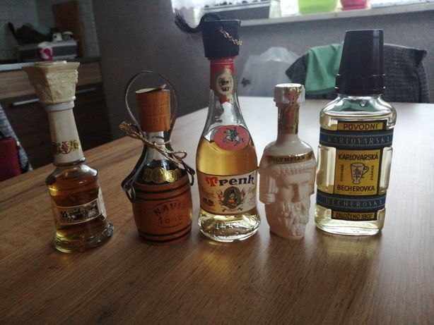Miniaturki alkoholi