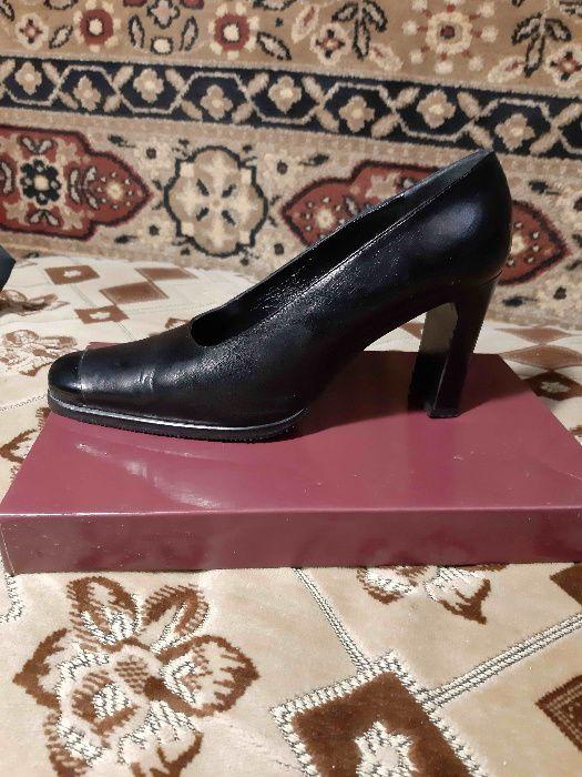 Черные кожаные туфли MARIANJ SLVARO Киев - изображение 1