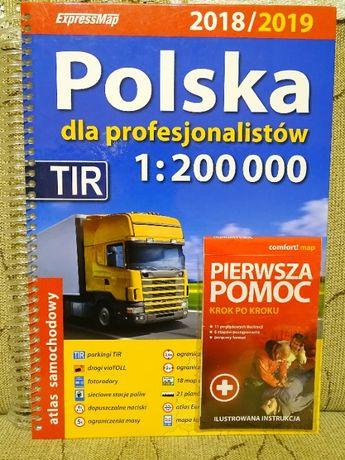 Atlas samochodowy Polska dla profesionalistów 2018/2019