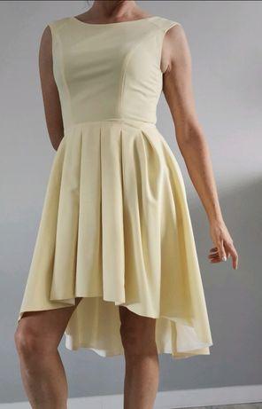 Żółta sukienka M