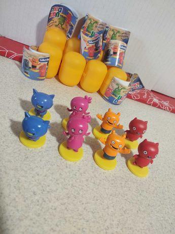 Figurki 3D NOWE seria Paskudy z Ugly Dolls / zabawki + stempelki
