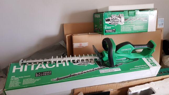 Podkosiarka Hitachi cg 36dl nożyce do Cięcia żywopłotu ch 36dl bateria