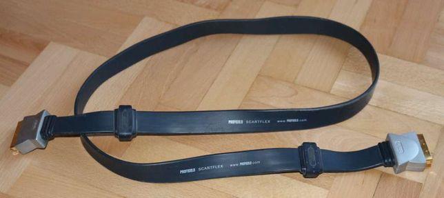 Przewód Scart/Scart płaski firmy Bandridge (Profigold 1,5 m PGV782)