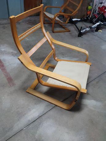 Vendo duas cadeiras tipo baloiço 40€