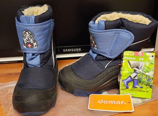 Зимние ботинки сапожки Demar Doggy 26 27 размер 17 сантиметров