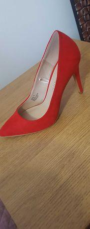 Sapatos senhora n38 vermelho Novos Primark