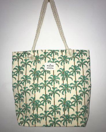 Saco praia palmeiras tropical Nuxe