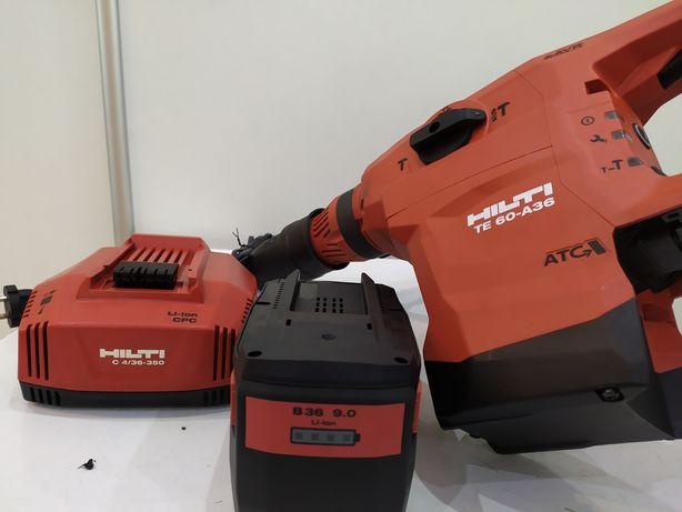 Hilti TE 60-A36 młotowiertarka młot akumulatorowy 9.0ah SDS-max NOWY