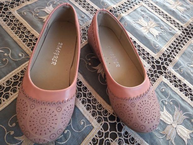 Pantofle pantofelki baleriny 31 wkładka 19.5