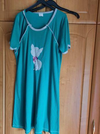 Cztery koszule ciążowe do karmienia